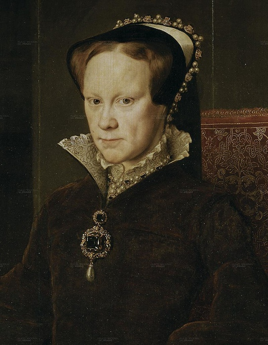 Портрет Марии Тюдор работы Антониса Мора.