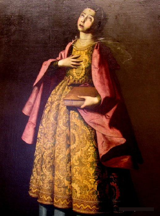 Святая Варвара.